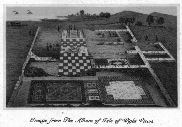 Brading Roman Villa IoW Floor Plan 3