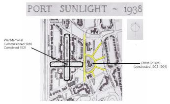 Fig 11 Port Sunlight Light and Dark