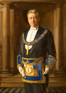 Fig 7 Lord Lever-mason-painting