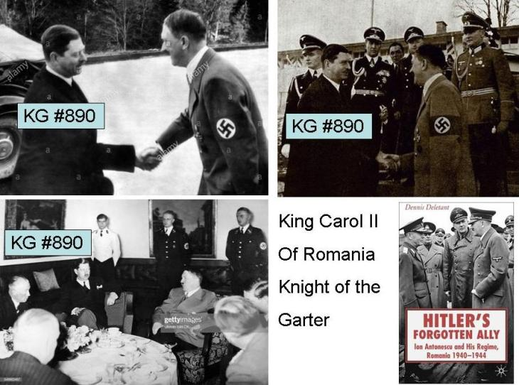 King Carol II of Romania KG 890