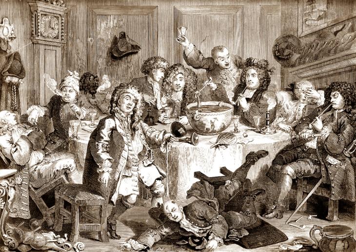 Anacreontic Society Hogarth