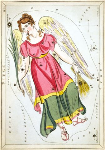Angel Inn Virgo Sidney_Hall_-_Uranias_Mirror