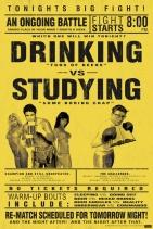 beer vs study