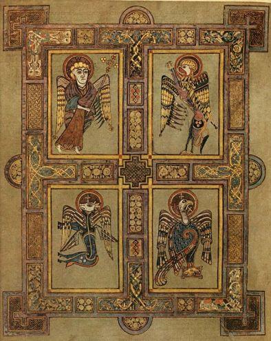 Book of Kells 9th Cent Ireland