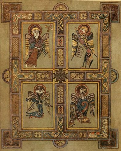 Book of Kells 9th Cent Ireland