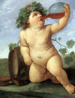 Fig 1 Bacchus (1623) Guido Reni