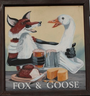 Fox and Goose Vulpecula and Anser