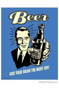 Give your brain the night off