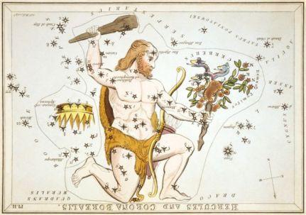 Hercules Sidney_Hall_-_Uranias_MirrorHercules