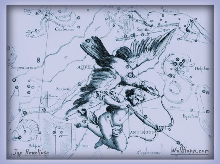 Eagle and Child - Aquila and Antinous