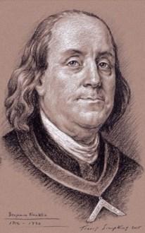 Benjamin Franklin Freemason 1