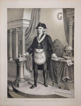 Benjamin Franklin Freemason 2