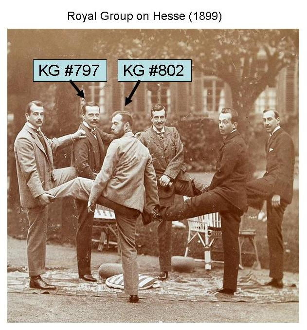 KG797 and KG802 Royal Group on Hesse 1899