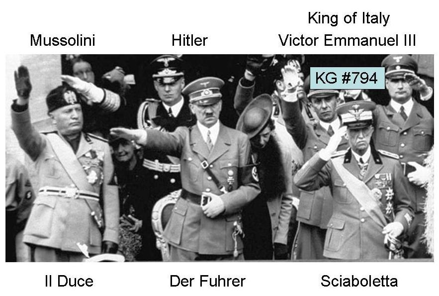 King of Italy Victor Emmanuel III p1