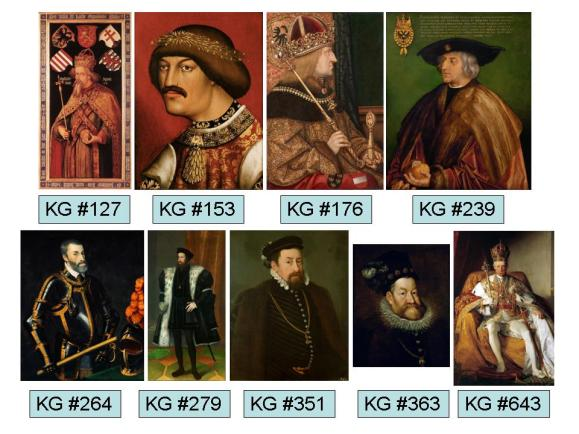 Knights of the Garter Holy Roman Emperors