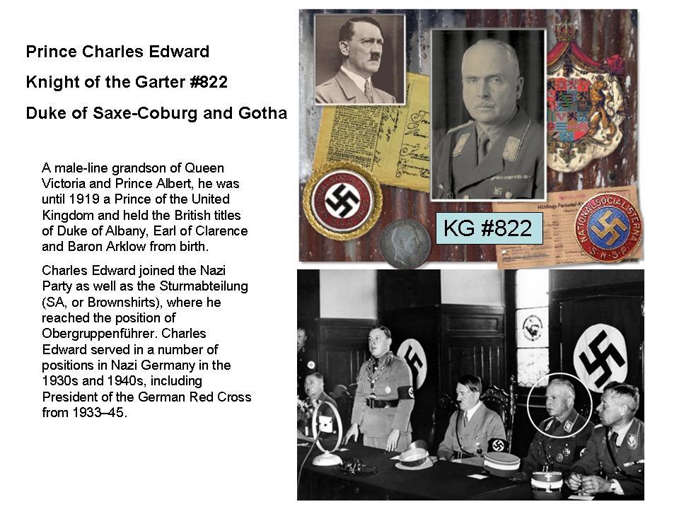 Charles Edward Duke of Saxe-Coburg and Gotha KG822