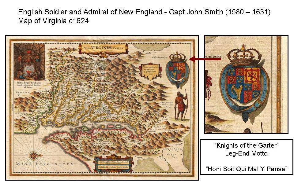 Map of Virginia c1624